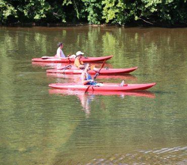 kayaking fun as well