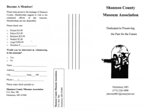 Shannon County Offline Pamphlet