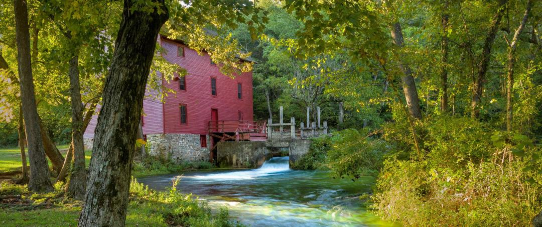 Alley Mill, the most photographed location in the state