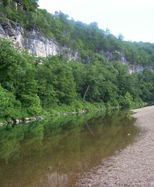 Beautiful Jacks Fork River