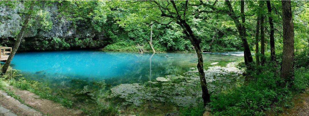 Blue Spring is super deep and super clear